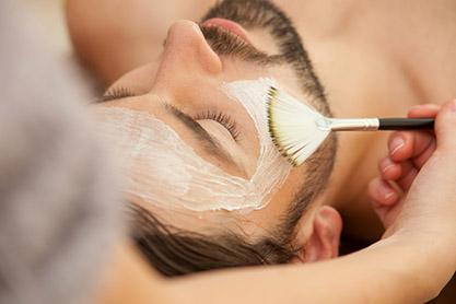Masque du visage, gommage, Levallois-Perret